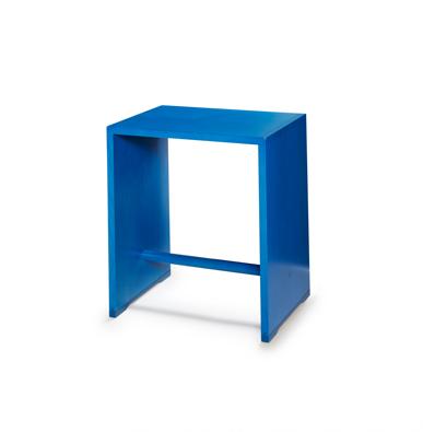 ulmer hocker dunkelblau wb form. Black Bedroom Furniture Sets. Home Design Ideas