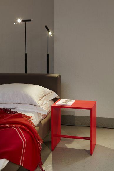 ulmer hocker feuerrot wb form. Black Bedroom Furniture Sets. Home Design Ideas