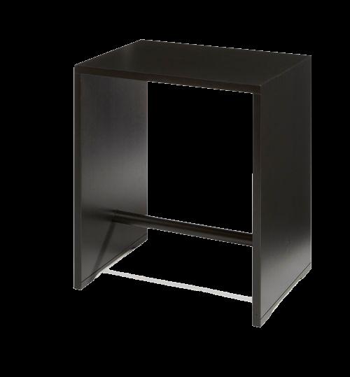 ulmer hocker schwarz wb form. Black Bedroom Furniture Sets. Home Design Ideas