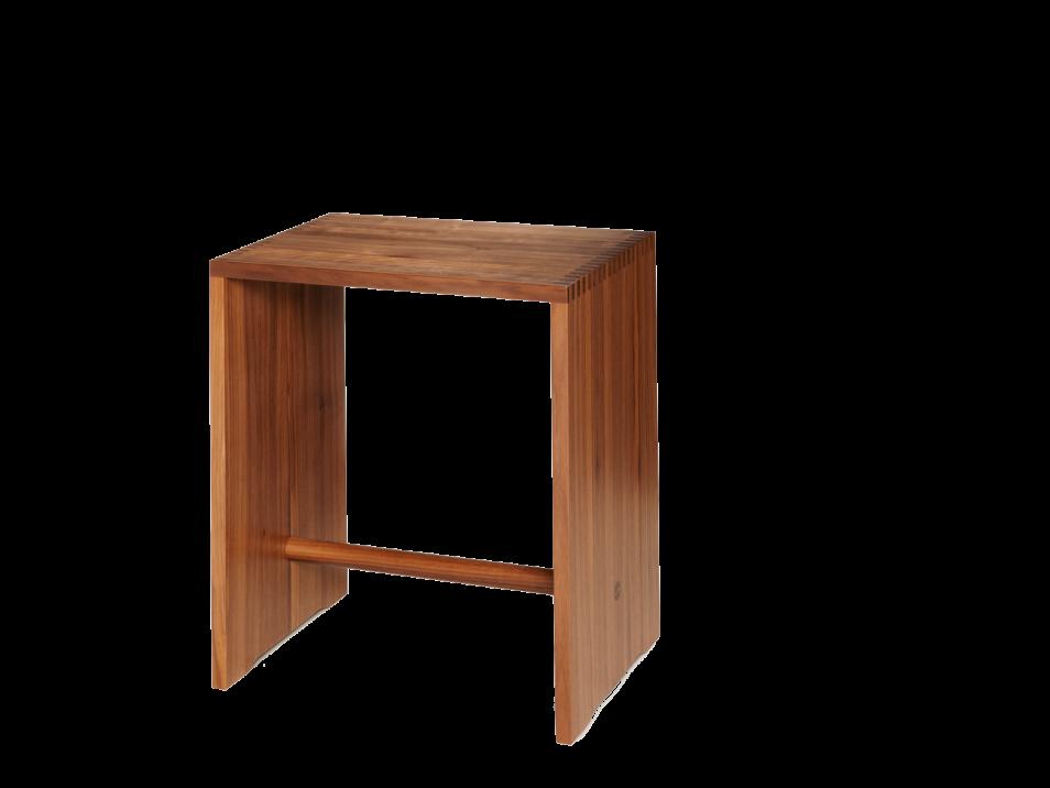 ulmer hocker nussbaum wb form. Black Bedroom Furniture Sets. Home Design Ideas