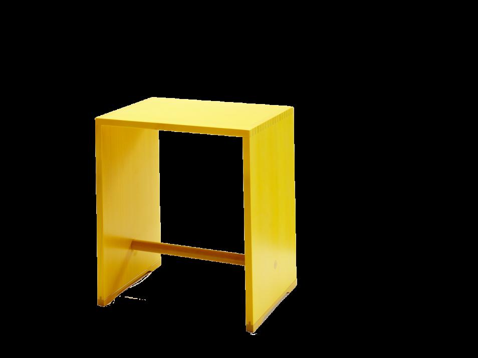 ulmer hocker zitronengelb wb form. Black Bedroom Furniture Sets. Home Design Ideas