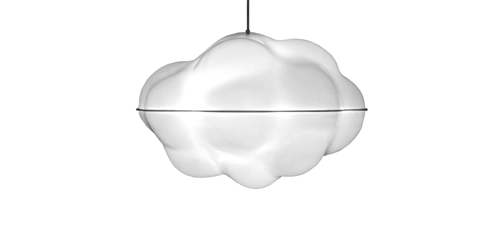 Cloud lamp wb form a pendant lamp in the shape of a sensuous cloud consisting of two asymmetrical bowls this light and airy lamp floats above any dictate of form a mozeypictures Images